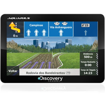Gps Automotivo Aquarius Discovery Slim 7 Pol. Tv Digital