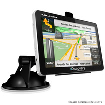 Gps Automotivo 4.3 Polegadas Lcd Slim Touch Screen Radar