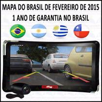 Gps Guia Quatro Rodas 7 - 4760 Tv Digital+camera Mapa 2015