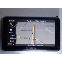 Gps Foston Fs-533dv C/ Camera,filmadora E Tv Digital S/acess