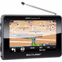 Gps Automotivo Tv Digital Multilaser Tracker Tela 4.3 Touch