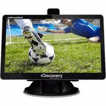 Gps Automotivo Tela Lcd 4.3 Touch Alerta Radar Tv Digital