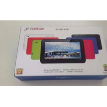Tablet Foston Fs-m787p - Tela Capacitiva Andróid 4.1 1.0ghz