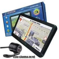 Gps Automotivo Com Camera De Ré Tv Digital Foston Fs 717