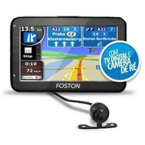 Gps Automotivo Foston Fs-3d717dc 7 Camera Ré Tv Digital 4gb