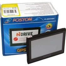 Gps Automotivo Foston Fs-3d473dc 4.3 Cam Ré Tv Dig Sem Juros