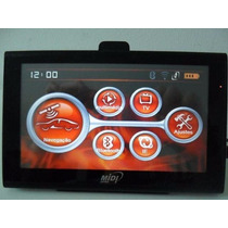 Gps Midi 7029 Bluetooth, Transmissor Fm, Radares, Av-in