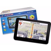 Gps Automotivo Foston Fs 3d710 Tv Digital Atualizado Igo2015