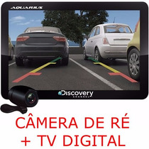 Gps Discovery 4.3 Aquarius Slim C/ Alerta Radar Touch 3d Map