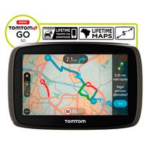 Gps Tomtom Go 50 Atualização Vitalícia Bluetooth Comando Voz