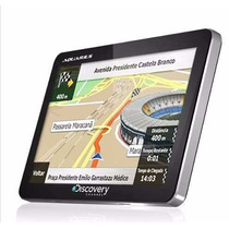 Gps Automotivo Aquarius Discovery Channel 4.3 Touch Screen