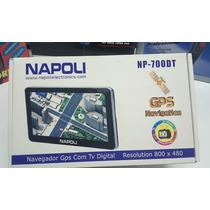 Gps Napoli Np-700 Dt 7.0, Mp3 E Mp4 , Tv Digital Da Isdb-t