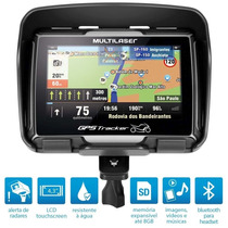 Gps Multilaser Gp040 Moto Bluetooth + Brinde