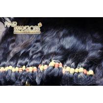 Cabeloshumano/mega Hair Alongamento Humano Preto 50g 70cm