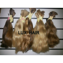 Cabelo Humano Natural Indiano 30 Cm 50gramas Mega Hair Loiro