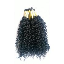 Cabelo Humano Cacheado A Vapor 60 Cm 100 Gramas P/mega Hair.