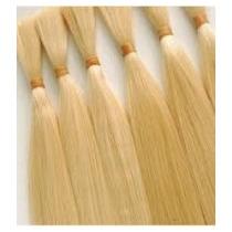 Cabelo Natural P/mega Hair Loiro Claro 50 Cm 50 Gramas