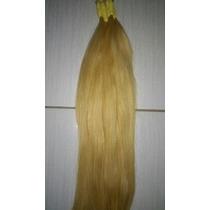 Cabelo Natural P/mega Hair Loiro Claro 60 Cm 50 Gramas