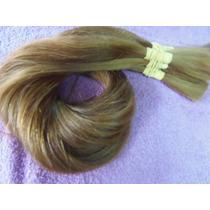 Cabelo Natural Humano Loiro Mel Liso 50gr 50/55cm -mega Hair