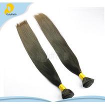 Aplique Mega Hair Cabelo 100% Humano C/ Queratina 100g 66cm