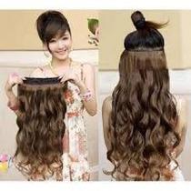 Mega Hair Tic Tac Tela Única ,pode Usar Chapinha, 120 Graus!