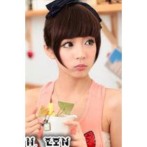 Cabelo Franja Sinteitica Fibra Japonesa Tic Tac 4# Chocolate