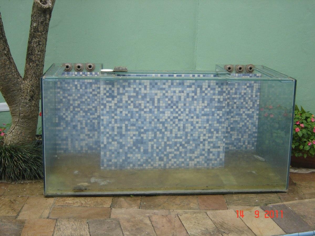 #5F4E36 Aquário De Vidro Com Formato Retangular Medidas 80 X 30 X 40cm Volu  794 Limpador De Vidros E Janelas Magnetico