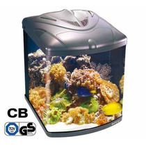 Aquario Boyu Tl 550 Zumbo C/ Movel Agua + Areia Rosa Rochas
