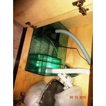 Aquario Black 100x40x50 6mm Aquario Com Sump Completo