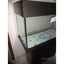 Aquario Black + Movel 100x40x50 6mm Completo