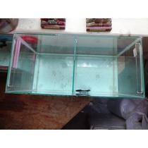 Aquário Para Peixe Ou Casal De Beta Medida -50x25x35 4mm