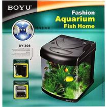 Aquario Boyu By308 Curvo 25 Litros 110v Paraíso Dos Aquários