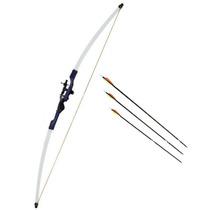 Arco E Flecha Xavante Nautika (48 Libras) + 3 Flechas + Alvo