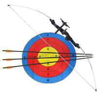 Arco E Flecha Xavante 48 Libras + 3 Flechas E Alvo Nautika