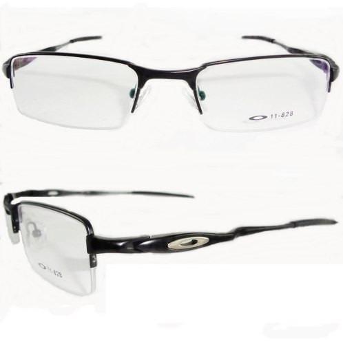 Armação Para óculos De Grau Oakley Crosshair Preto C  Preto   Cepar 981ec2a866