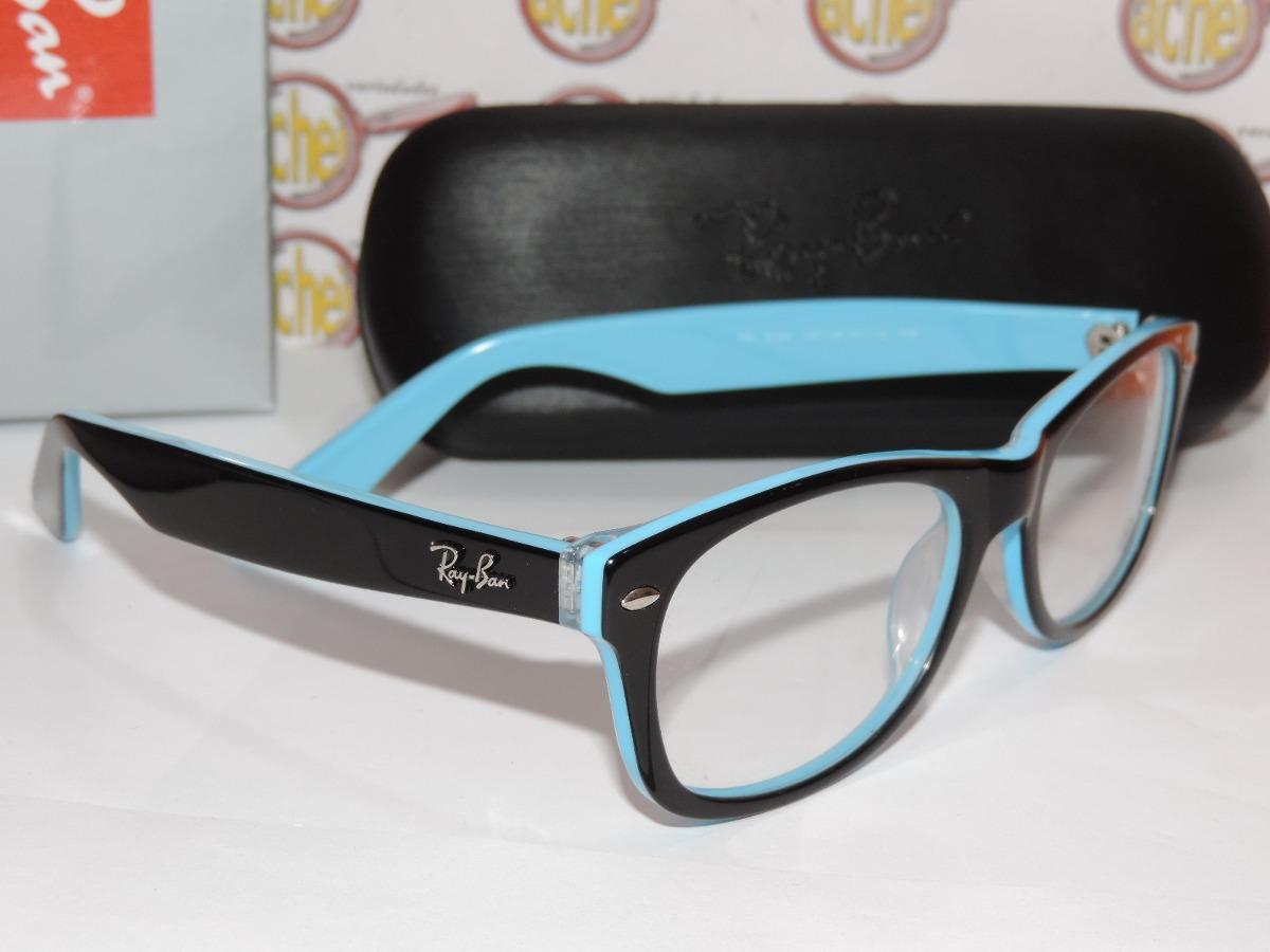 Oculos De Grau Ray Ban Preto E Vermelho   Louisiana Bucket Brigade 772c83fdd5