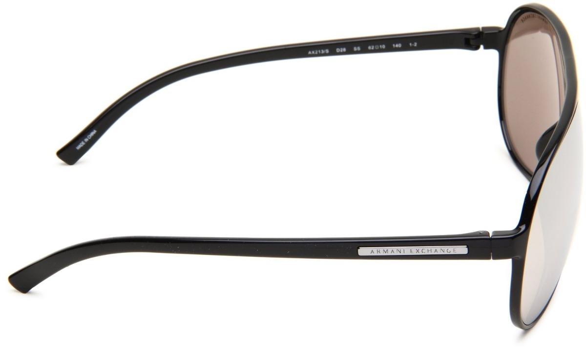fdff9cd95af Armani Exchange Óculos De Sol Ax213 Espelhado - R  209