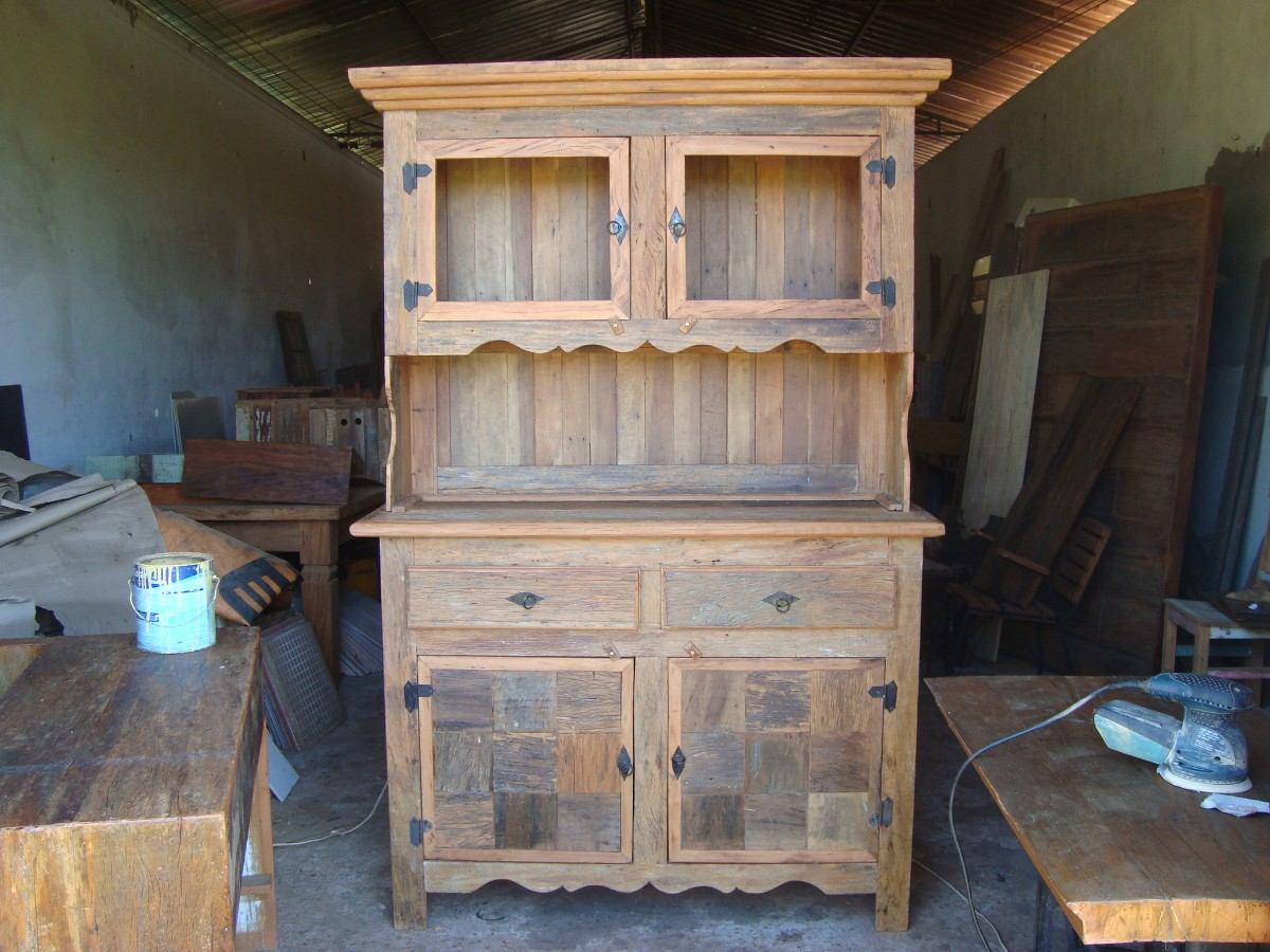 armario de cozinha em 100 peroba rosa madeira de demolico 14109  #337C98 1200x900
