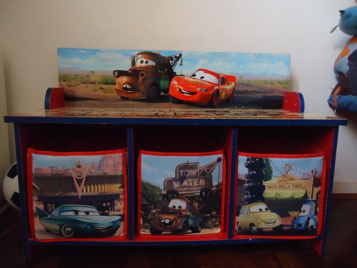 Armário Infantil Para Brinquedos Do Mcqueen/cars De Madeira R$ 550  #BB2210 1200x900