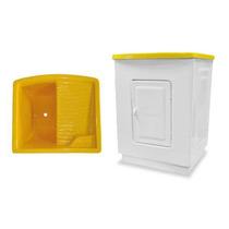 Tanque 35 Litros Com Gabinete Fibra Amarelo