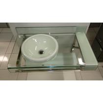 Gabinete Vidro Banheiro Chopin - Estilo Astra Branco 90cm