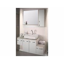 Balcão Para Banheiro Inovatta 100x41cm Com Cuba E Espelho