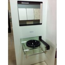 Gabinete De Vidro 60 Cm Banheiro