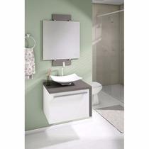 Balcão Para Banheiro 60cm Lino Piombo Cento
