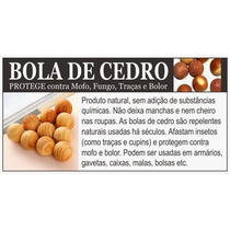 Bolas De Cedro 02 Pcts Anti Mofo,bolor & Traças,desumidifica