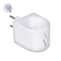 Aromatizador Elétrico Em Porcelana Plug Bivolt Via Aroma