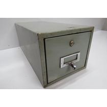 Arquivo De Aço Com 1 Gaveta Usado
