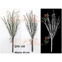 Kit 6 Flores Artificiais Galho Seco Pronto Entregam-qx