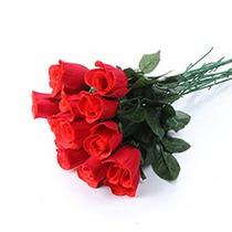 144 Botões De Rosa - Flores Artificiais Artificial Flor