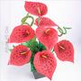 Arranjo Copo De Leite 45 Cm Várias Cores - Flor Artificial